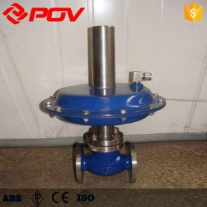 China Globe Valve Self-operated Micro Pressure Regulator on sale