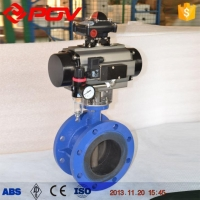 Butterfly Valve Flange Air Operated Butterfly Valve