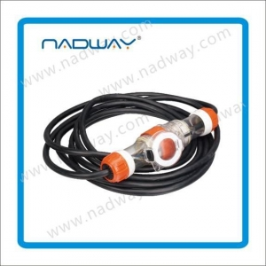 China Distribution Board Extension Leads Rubber Cable with Waterproof Socket and Plug on sale
