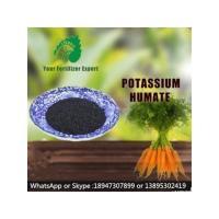 Agriculture Humic Acid Organic Fertilizer Potassium Humate Flake