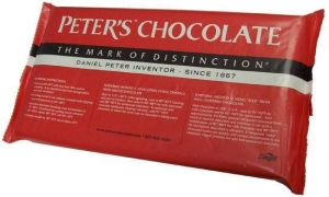 China Chocolates Peter's Burgundy 10 lb. block on sale