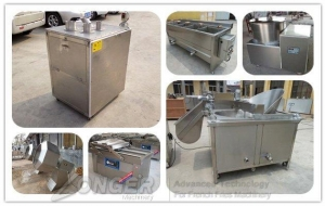China Automatic Banana Chips Making Plant 100kg/h on sale