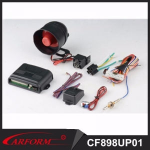 China upgrade car alarm system CF898UP-01 One Way Car Alarm on sale
