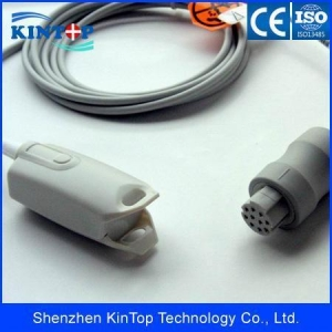 China Reusable SpO2 Sensor GE-Datex Ohmeda adult finger spo2 sensor ,OXY-F4-N OXY-E4-N on sale