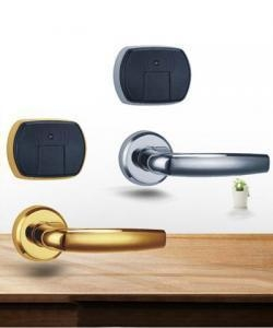 China New design split hotel door lock electronic lock card key door lock on sale
