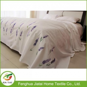 China Hand Embroidery New Patchwork Bed Sheet Designs on sale