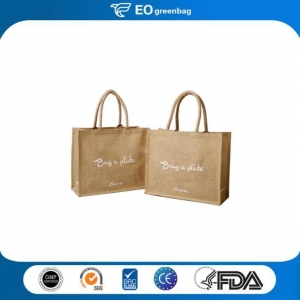 China Linen Shopping Bag with Printing on sale