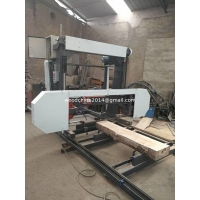China mini sawmill machine,log saw cutting portable horizontal band sawmill machine,used portable sawmill on sale