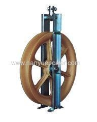 China OPGW stringing cable pulley block for OPGW stringing on sale