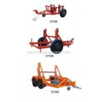 Unground Cable Reel Trailer cable pulling trailers electrical underground cable pulling machine