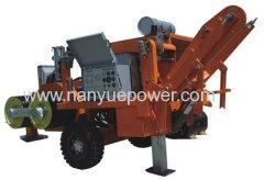 China 250kN Hydraulic Conductor Puller cable pulling winch machine equipment on sale