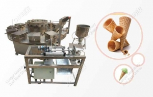 China Cone Rolling Machine for Wafer Cone|Ice Cream Cone on sale
