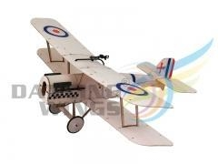 Quality DWhobby Free Shipping Balsawood Airplane Balsa KIT 378mm SE5A for sale