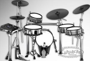 China Roland TD-50KVA Electronic Drum Set on sale