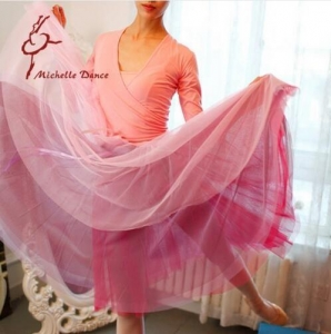 China Dancewear Collection Product name:Adult Women Dance Fairy Like Ballet Skirt SK9 on sale