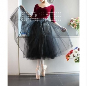 China Dancewear Collection Product name:Adult Classical Length Tutu Skirt Ballet Dress SK5 on sale