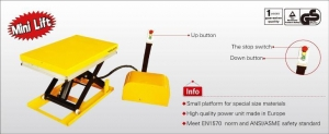 China VOLOX Products Micro-Electric Lifting Platform on sale