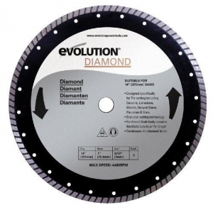 China Evolution Power Tools 14BLADEDM 14-Inch Diamond Masonry Blade with 1-Inch Arbor on sale