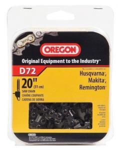 China Oregon D72 20-Inch Vanguard Chain Saw Chain, Fits Husqvarna, Remington, Makita on sale