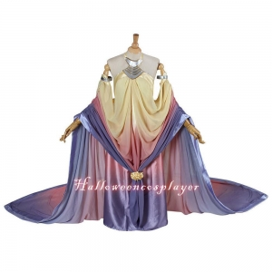 China Star Wars Cosplay Queen Amidala Dresses Padme Amidala Costume Costume Medieval Dress on sale