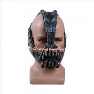 China Batman:The Dark Knight Rises Bane Face Mask Bane Costume Scary Halloween Masks on sale