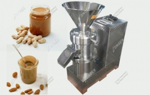 China Industrial Peanut Butter Grinding Machine|Almond Butter Grinder LGJMS-240 on sale