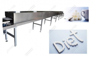 China Stainless Steel Cube Sugar Infrared Drying Tunnel Prices on sale
