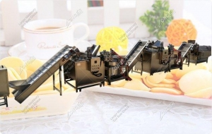 China Fully Automatic Potato Chips Production Line|Potato Chips Processing Plant on sale
