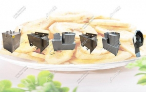China Small Scale 50kg/h Banana Chips Production Line|Semi-automatic Plantain Chips Making Plant on sale