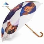 China Black Walking Stick Umbrella 2 in 1 Combination on sale