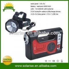 China 3.5w solar home light With radio and mp3 on sale