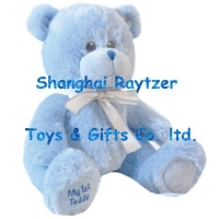 Soft toys RZ-RC-1014 blue12 inch Baby Boy bear