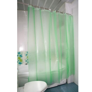 China TD02-Green-eco friendly shower curtain liner,eco shower curtains on sale
