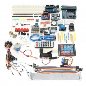 China Professional UNO R3 Starter Kit For Arduino LCD Servo Motor Compass Gyro US - intl on sale