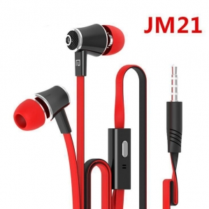 China HIFI Noodle line bass phone line-controlled MP3 noise reduction earphones on sale