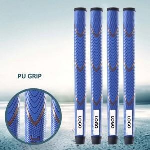 China OEM Blue PU Golf Putter Grip on sale