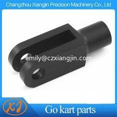 China Go kart parts CNC Machined Aluminum Billet 6061 T6 Go Kart Brake Clevis Go Kart Pedal Linkage on sale
