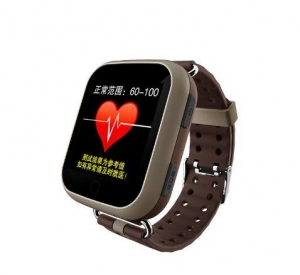 China Touch screen elder smart watch with sos calling gps tracker heart rate monitor on sale