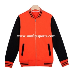 China Sports Jackets & hoodies custom nylon varsity jackets, hood varsity school jackets on sale