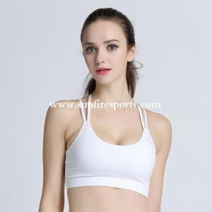 China China wholesale fitness young lady zipper hot sex yoga bra sport bra women on sale