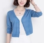 China Spring and summer breathable cardigan 1706141 on sale