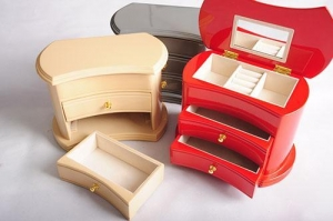 China Wholesale high quality jewelry wooden box large wooden jewelry box on sale