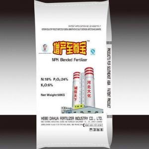 China NPK Blended fertilizer 18-24-6 on sale