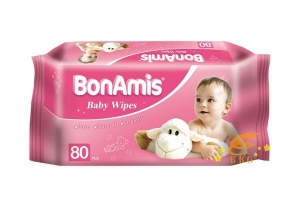 China BABY WIPE 2014 New Products BonAmis Baby Wet Wipes on sale