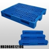 China 1200*1000*170 mm Industry plastic pallet with 3 runners and mess deck for sale