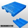 China 1200*1000*150 mm Industry plastic pallet with 3 runners and open deck for sale