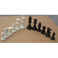 China standard tounament king height 97mm chess piece on sale