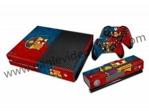 China Hot Selling FCB Decal Skin Stickers Xbox one Console Xbox one Controller Decals on sale