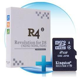 China R4i ultra + 2GB Kingston Memory Card on sale