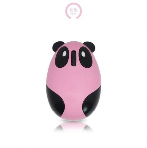 China Rechargeable Cute Panda 2.4GHZ Wireless mouse GVX66 on sale